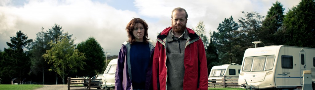 Tina (Alice Lowe) and Chris (Steve Oram) in Ben Wheatley's SIGHTSEERS. Photo credit: Ben Wheatley. An IFC Films release.